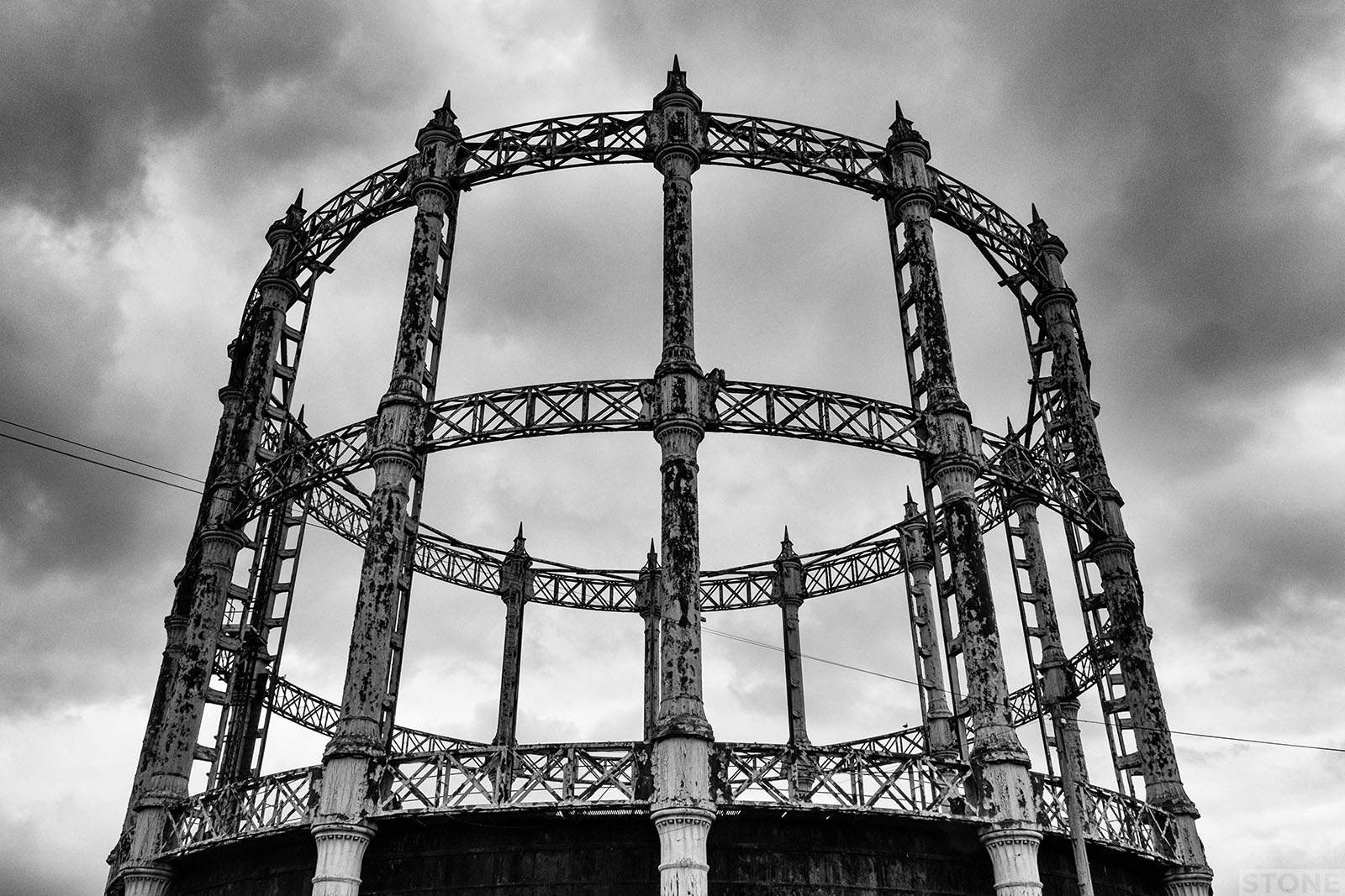 Collapsing new buildings: Barrack Road Gasometer