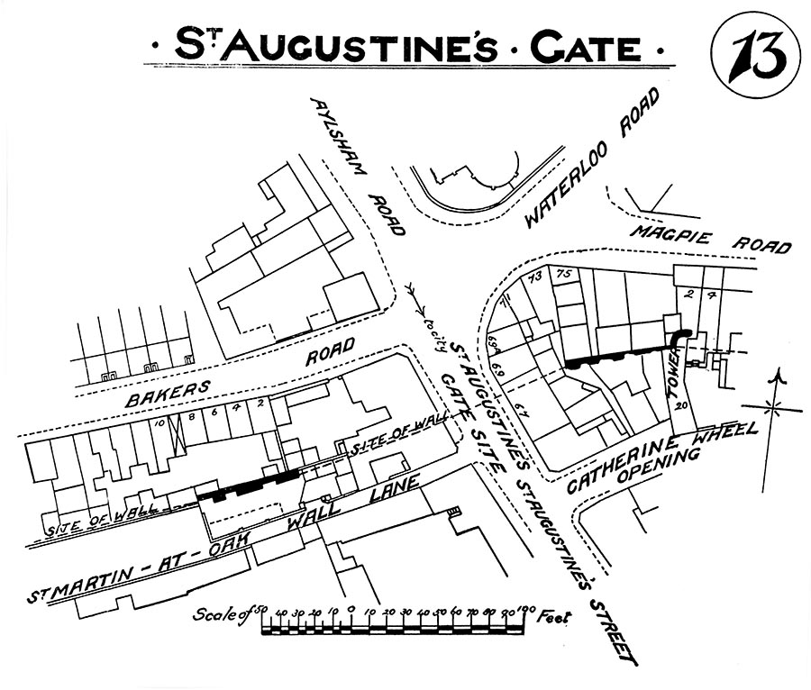 St Augustines City Wal 1909