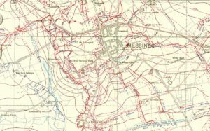 Messines trenches