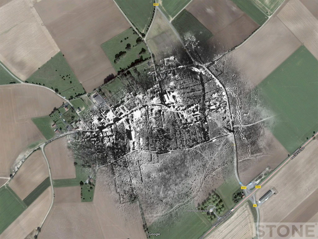 courcelette trench ghost