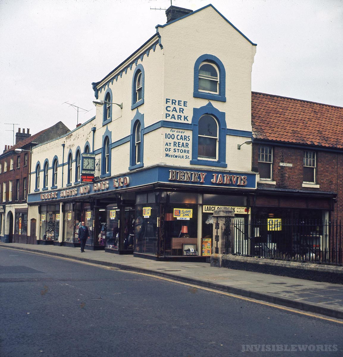Through glass: 1960s norwich – part 4, streets