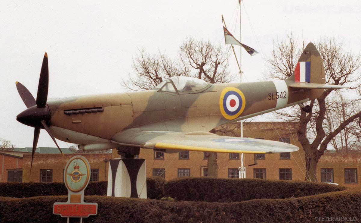 RAF Coltishall gate guardian