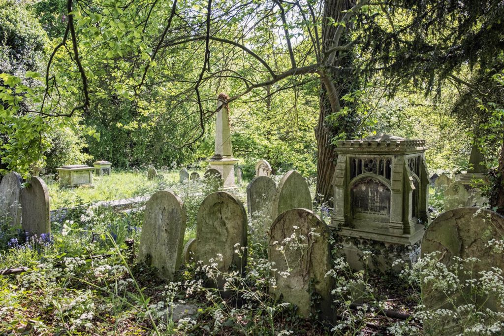 Rosary Cemetery, Norwich, Graves