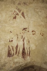 Little Witchingham St Faiths church Norfolk medieval wall paintings