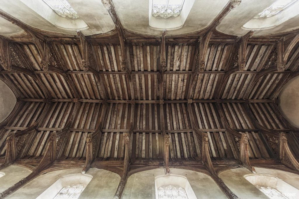 Trunch Hammerbeam roof