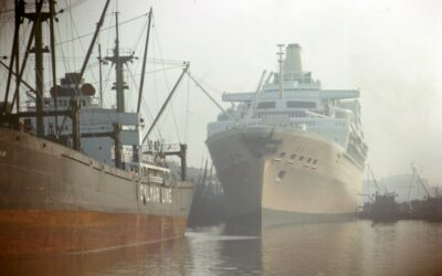 SS Oriana from the 1960s
